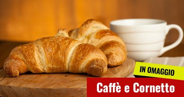 Caffè e Cornetto Omaggio